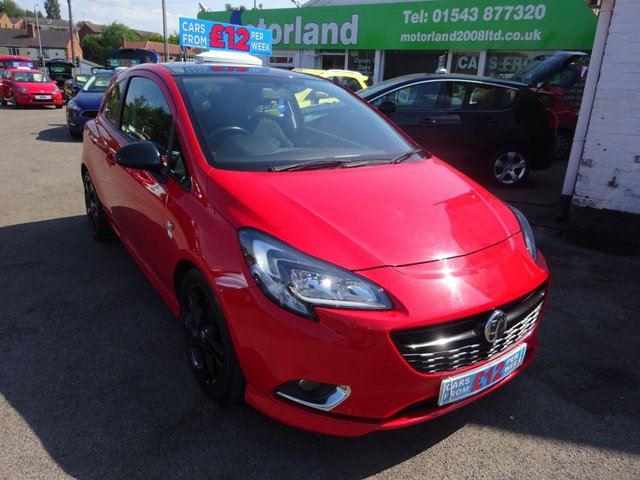 USED 2015 64 VAUXHALL CORSA 1.2 LIMITED EDITION 3d 69 BHP **IDEAL FIRST CAR**JUST ARRIVED ** 01543  877320**