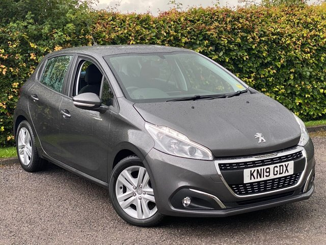 USED 2019 19 PEUGEOT 208 1.2 ACTIVE 5d MANUFACTURERS WARRANTY 4/22