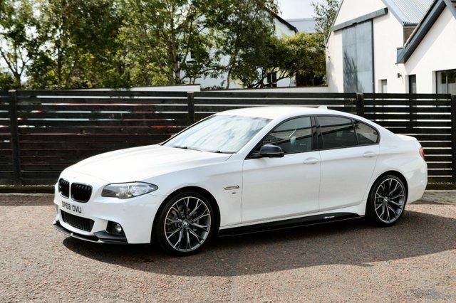 2013 63 BMW 5 SERIES 2.0 520D M SPORT 4d 181 BHP