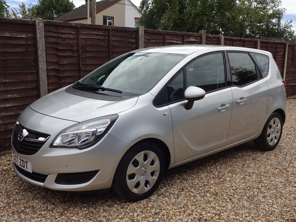USED 2017 17 VAUXHALL MERIVA 1.4T CLUB AUTOMATIC LOW MILEAGE AUTOMATIC**LONG MOT AND SERVICE HISTORY