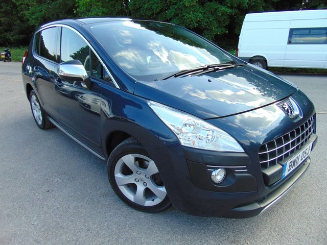 2011 11 PEUGEOT 3008 1.6 EXCLUSIVE HDI 5d 112 BHP