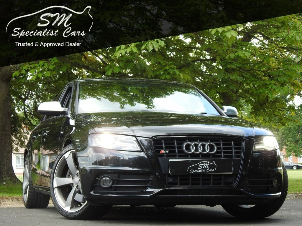 USED 2011 11 AUDI A4 3.0 S4 QUATTRO 4d 329 BHP HUGE SPEC ARMYTRIX EXHAUST FSH