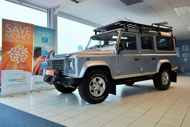 2008 58 LAND ROVER DEFENDER 2.4 110 XS STATION WAGON 5d 122 BHP 7 SEATER NO VAT