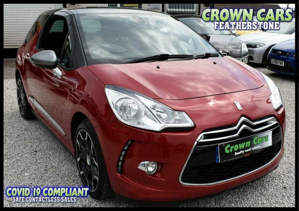 USED 2013 63 CITROEN DS3 1.6 e-HDi Airdream DStyle Plus 3dr ONE FORMER OWNER