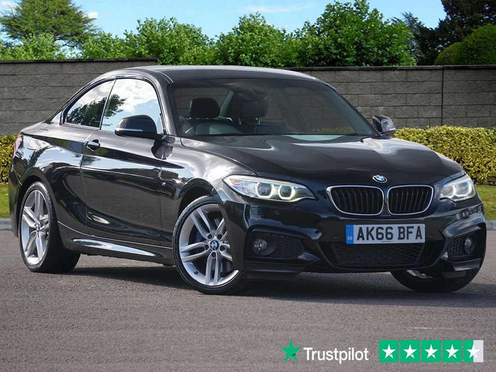 USED 2016 66 BMW 2 SERIES 2.0 220D M SPORT 2d 188 BHP FBMWSH High Specification