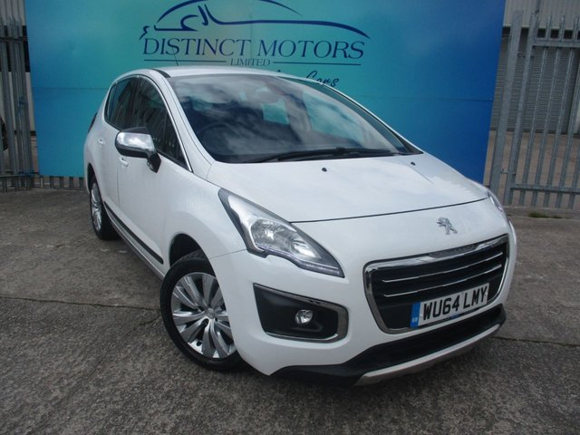 USED 2014 64 PEUGEOT 3008 1.6 E-HDI ACTIVE 5d 115 BHP