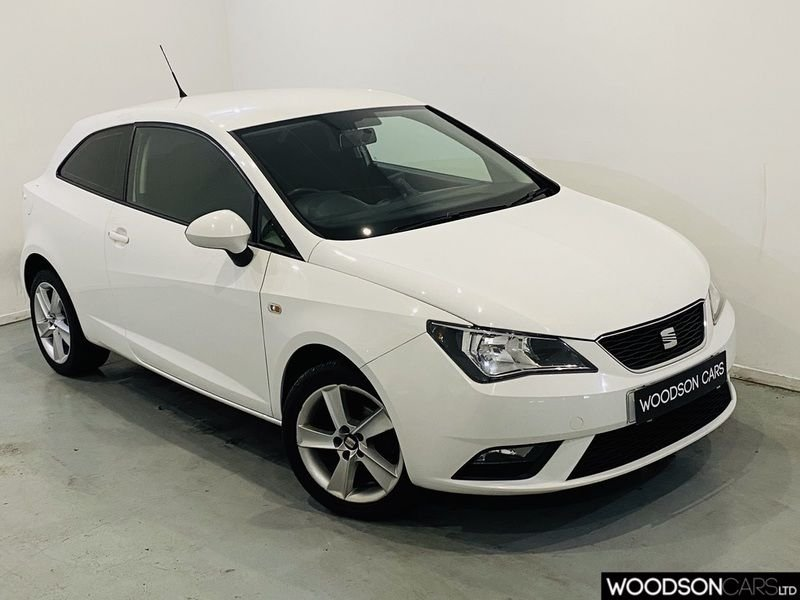 USED 2013 13 SEAT IBIZA 1.4 TOCA 3d 85 BHP Sat Nav / Bluetooth / Aux / Privacy Glass