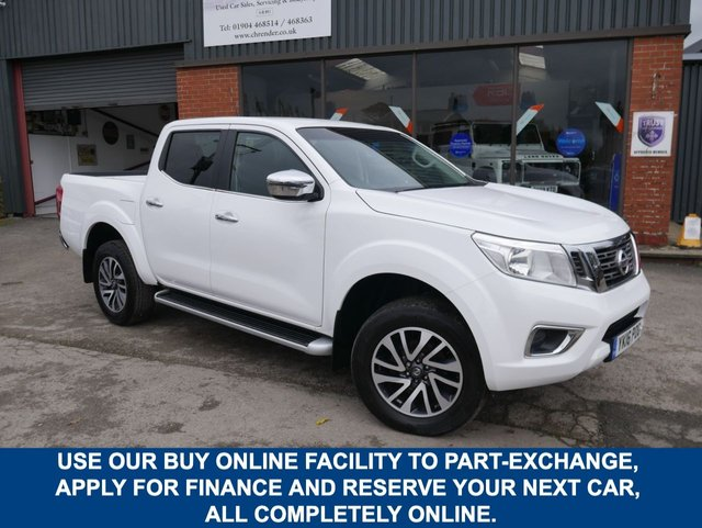 USED 2016 16 NISSAN NP300 NAVARA 2.3 DCI N-CONNECTA 4X4 SHR DCB 190 BHP CLICK & COLLECT ONLINE AT C H RENDER.