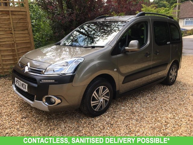 USED 2013 63 CITROEN BERLINGO MULTISPACE 1.6 E-HDI AIRDREAM XTR EGS 5d 91 BHP AUTOMATIC VERY LOW MILEAGE FINANCE ME TODAY-UK DELIVERY POSSIBLE