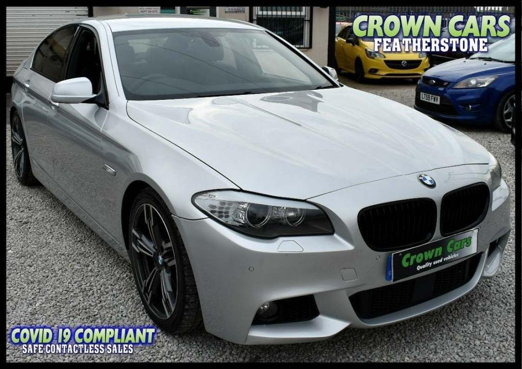 USED 2010 BMW 5 SERIES 2.0 520d SE 4dr M SPORT SPEC WITH LEATHER