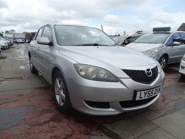 USED 2005 55 MAZDA 3 1.6 TS 5d 105 BHP AUTOMATIC YEAR MOT