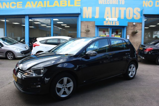 USED 2015 65 VOLKSWAGEN GOLF 1.6 MATCH TDI BLUEMOTION TECHNOLOGY 5dr 109 BHP NEED FINANCE??? APPLY WITH US!!!