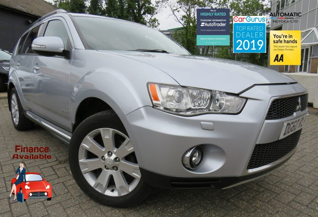 USED 2010 60 MITSUBISHI OUTLANDER 2.3 DI-D GX 4 5d 175 BHP 7 SEATS NAVIGATION BLUETOOTH