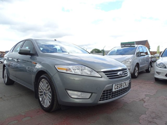 USED 2008 08 FORD MONDEO 2.0 GHIA TDCI 5d 140 BHP AUTOMATIC FULL SPEC