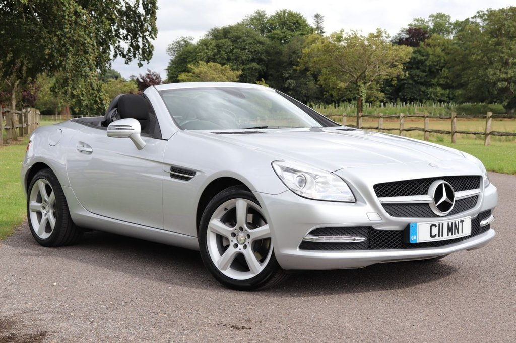 USED 2014 C MERCEDES-BENZ SLK 1.8 SLK200 BLUEEFFICIENCY 2d 184 BHP Cruise + Dab + Bluetooth