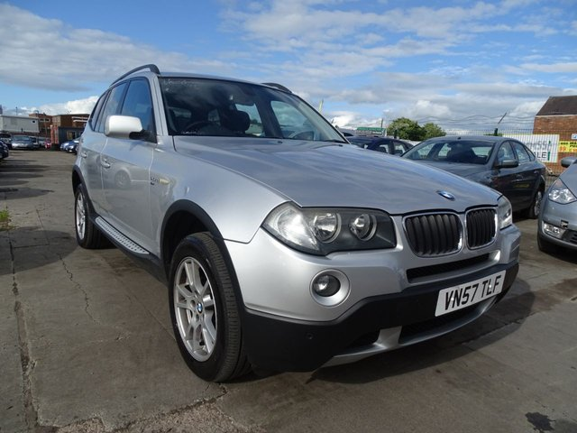 USED 2007 57 BMW X3 2.0 D SE 5d 148 BHP DRIVES WELL MUST SEE