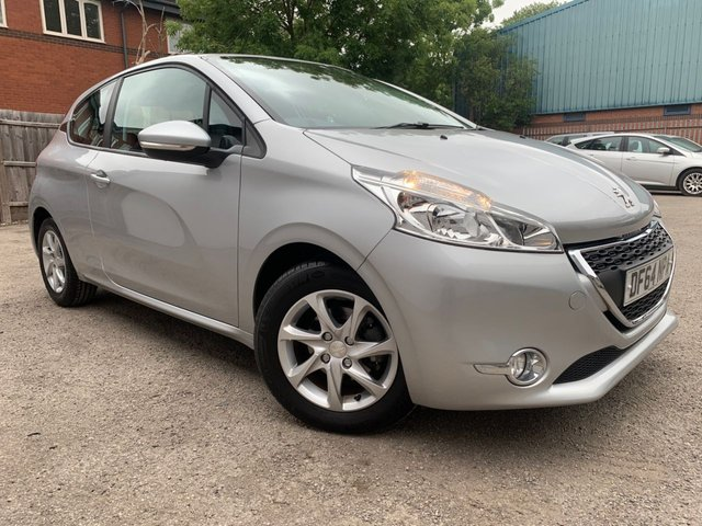 USED 2014 64 PEUGEOT 208 1.2 ACTIVE SEMI AUTOMATIC 3d 82 BHP