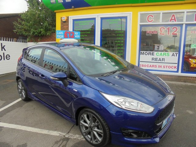USED 2016 66 FORD FIESTA 1.0 ST-LINE 5d 139 BHP JUST ARRIVED 5 DOOR ST LINE