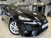 USED 2015 64 LEXUS IS 2.5 300H EXECUTIVE EDITION 4d 179 BHP FINISHED IN STUNNING METALLIC BLACK WITH BEAUTIFULLY CONTRASTING CREAM LEATHER HEATED SEATS + COMES WITH AN IMPECCABLE FULL LEXUS MAIN DEALER SERVICE HISTORY + HEATED SEATS + SATELLITE NAVIGATION + PARKING SENSORS FRONT/REAR + BLUETOOTH PHONE AND BLUETOOTH MEDIA + CLIMATE CONTROLLED DUAL ZONE AIRCONDITIONING + IN CAR ENTERTAINMENT AUX/USB INPUT + CRUISE CONTROL + DAB DIGITAL RADIO + SELECTABLE DRIVING MODES + PADDLESHIFT GEAR SELECTION + 17 INCH ALLOY WHEELS + VOICE COMMAND + AMBIENT LIGHTING +