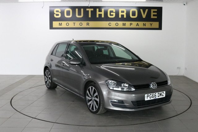 USED 2017 66 VOLKSWAGEN GOLF 1.6 GT EDITION TDI BLUEMOTION TECHNOLOGY 5d 109 BHP