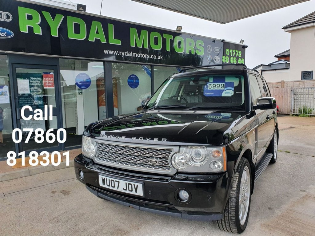 USED 2007 07 LAND ROVER RANGE ROVER 3.6 TDV8 VOGUE 5d 272 BHP