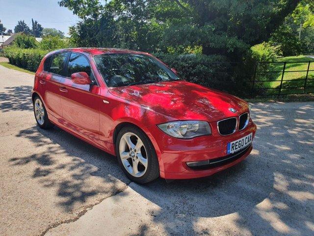 2010 60 BMW 1 SERIES 2.0 116D SPORT 5d 114 BHP