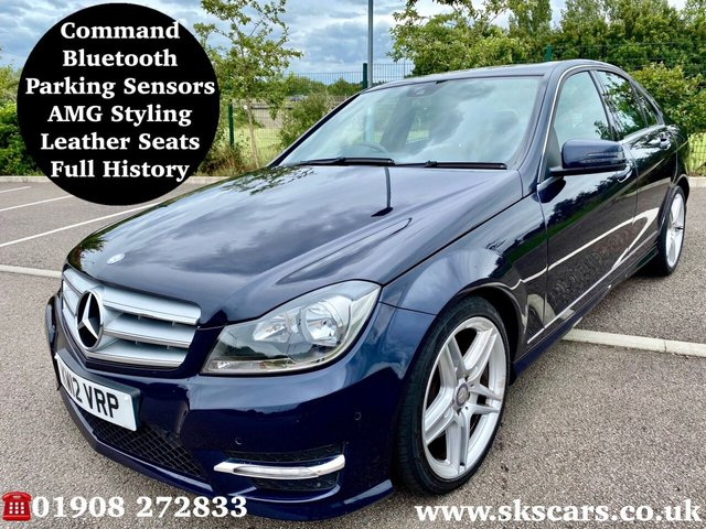 2012 12 MERCEDES-BENZ C-CLASS 3.0 C350 CDI BLUEEFFICIENCY AMG SPORT 4d 262 BHP