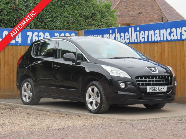 USED 2012 12 PEUGEOT 3008 1.6 ACTIVE E-HDI FAP 5d 112 BHP VERY CLEAN CAR