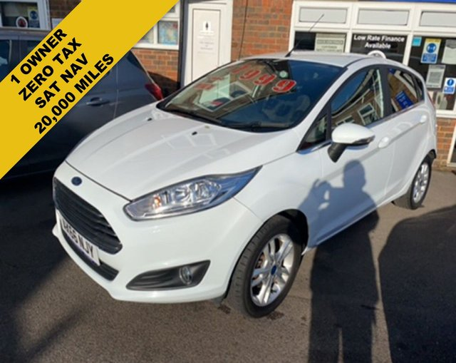 2017 66 FORD FIESTA 1.0 ZETEC WHITE EDITION SPRING ECOBOOST (100PS)