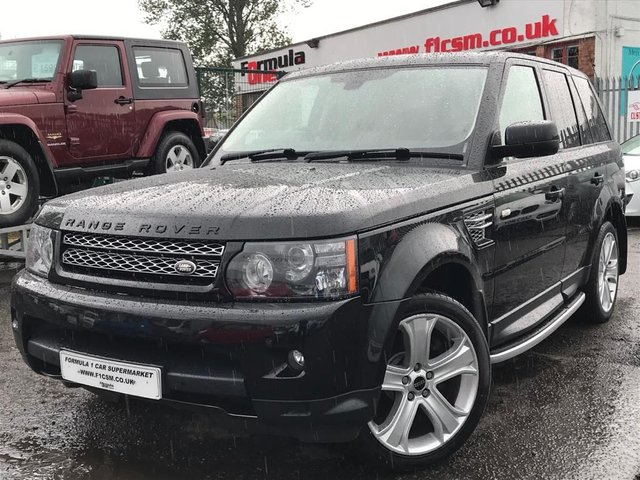 USED 2012 12 LAND ROVER RANGE ROVER SPORT 3.0 SDV6 HSE LUXURY 5d 255 BHP LOW MILEAGE+FULL HISTORY+HUGE SPEC+MUST BE SEEN!!!!