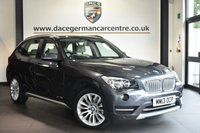"USED 2013 13 BMW X1 2.0 XDRIVE18D XLINE 5DR 141 BHP Finished in a stunning mineral metallic grey styled with 18"" alloys. Upon opening the drivers door you are presented with full leather interior, full service history, satellite navigation, bluetooth, reversing camera, heated seats, cruise control, DAB radio, Multifunction steering wheel, Driving experience switch incl. ECO PRO, Automatic air conditioning, Light package, Voice control, paring sensors"