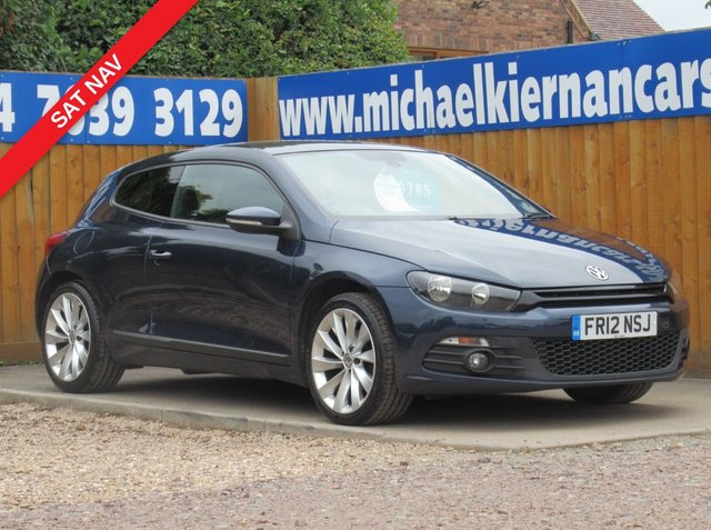 USED 2012 12 VOLKSWAGEN SCIROCCO 2.0 GT TDI BLUEMOTION TECHNOLOGY 2d 140 BHP VERY CLEAN CAR