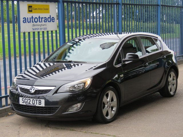 USED 2012 12 VAUXHALL ASTRA 1.6 SRI 5d 113 BHP ULEZ COMPLIANT, CD RADIO AIR CONDITIONING SERVICE HISTORY, AIR CONDITIONING, DAY TIME RUNNING LIGHTS, CD RADIO, CRUISE CONTROL