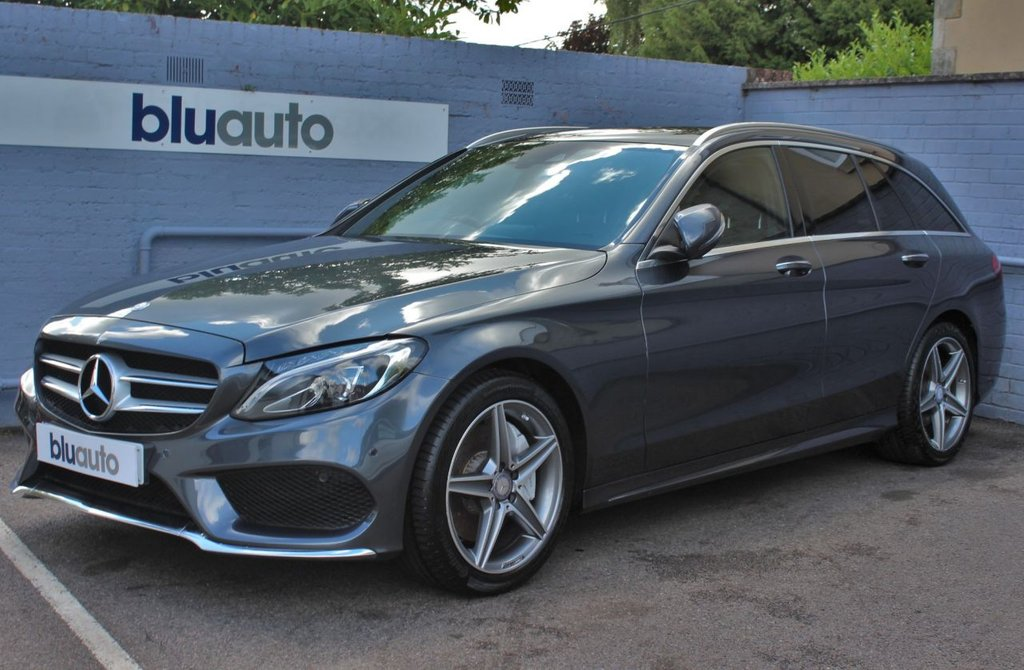 USED 2016 16 MERCEDES-BENZ C 250 2.1 D AMG LINE PREMIUM PLUS 5d 204 BHP Full Mercedes History, Huge Specification, Excellent Condition
