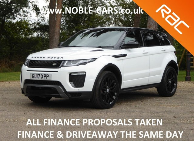 USED 2017 17 LAND ROVER RANGE ROVER EVOQUE 2.0 TD4 HSE DYNAMIC LUX 5d 177 BHP