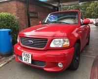 2002 FORD F 150 5.4 LIGHTNING AUTO SUPERCHARGED £21490.00