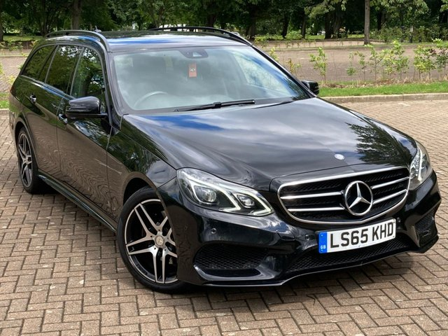 USED 2015 65 MERCEDES-BENZ E-CLASS 2.1 E220 BLUETEC AMG NIGHT EDITION 5d 174 BHP