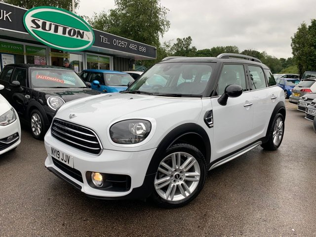 USED 2019 19 MINI COUNTRYMAN 1.5 COOPER EXCLUSIVE 5d 134 BHP