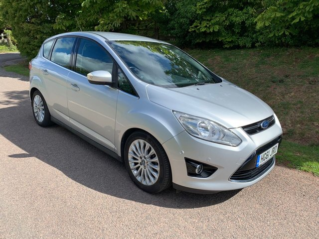 USED 2011 61 FORD C-MAX 1.6 TITANIUM 5d 123 BHP **ONE OWNER**FULL DEALER SERVICE HISTORY**LOVELY SPEC**PARKING SENSORS**