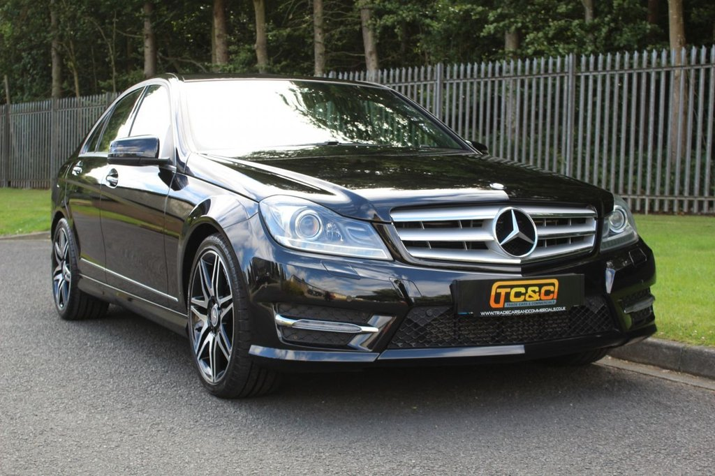 USED 2013 63 MERCEDES-BENZ C-CLASS 2.1 C220 CDI BLUEEFFICIENCY AMG SPORT PLUS 4d 168 BHP A STUNNING MERCEDES C220 WITH SERVICE HISTORY AND GOOD SPECIFICATION!!!