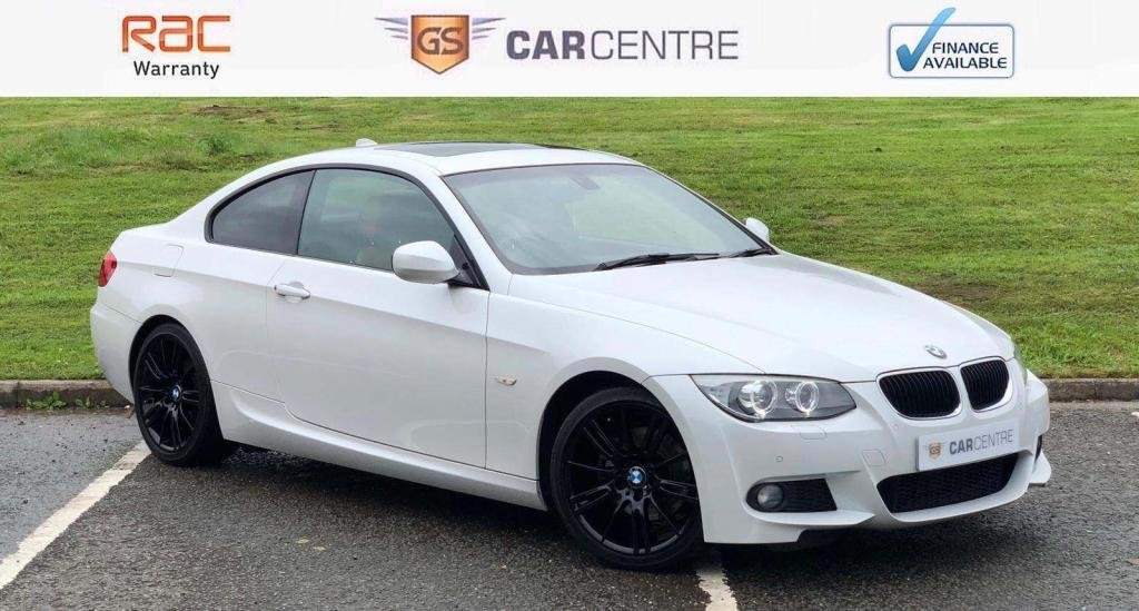 USED 2013 13 BMW 3 SERIES 2.0 320d M Sport 2dr Low Miles+ Tan Leather+Sunroof