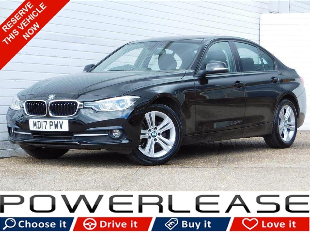 USED 2017 17 BMW 3 SERIES 2.0 316D SPORT 4d 114 BHP SAT NAV DAB CRUISE CONTROL