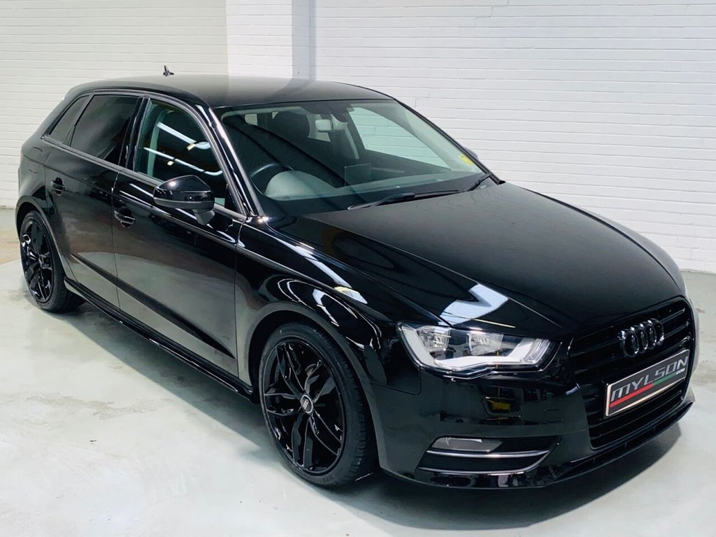 USED 2016 16 AUDI A3 1.6 TDI ULTRA SE TECHNIK 5d 109 BHP Black Styling Pack, Privacy Glass, 18in Black Wheels, Zero Road Tax, Great Spec including DAB Radio, Sat Nav, Bluetooth, Cruise Control