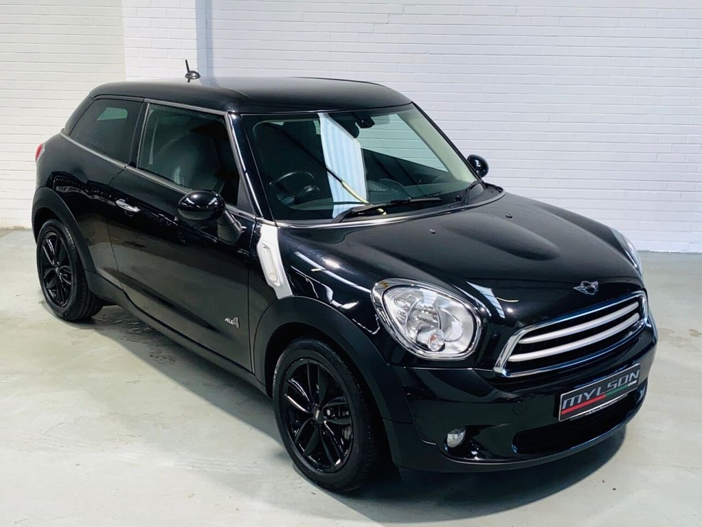 USED 2013 13 MINI MINI PACEMAN 1.6 COOPER D ALL4 3d 112 BHP Triple Black, Full Leather Interior, Privacy Glass, Media Pack, Heated Seats