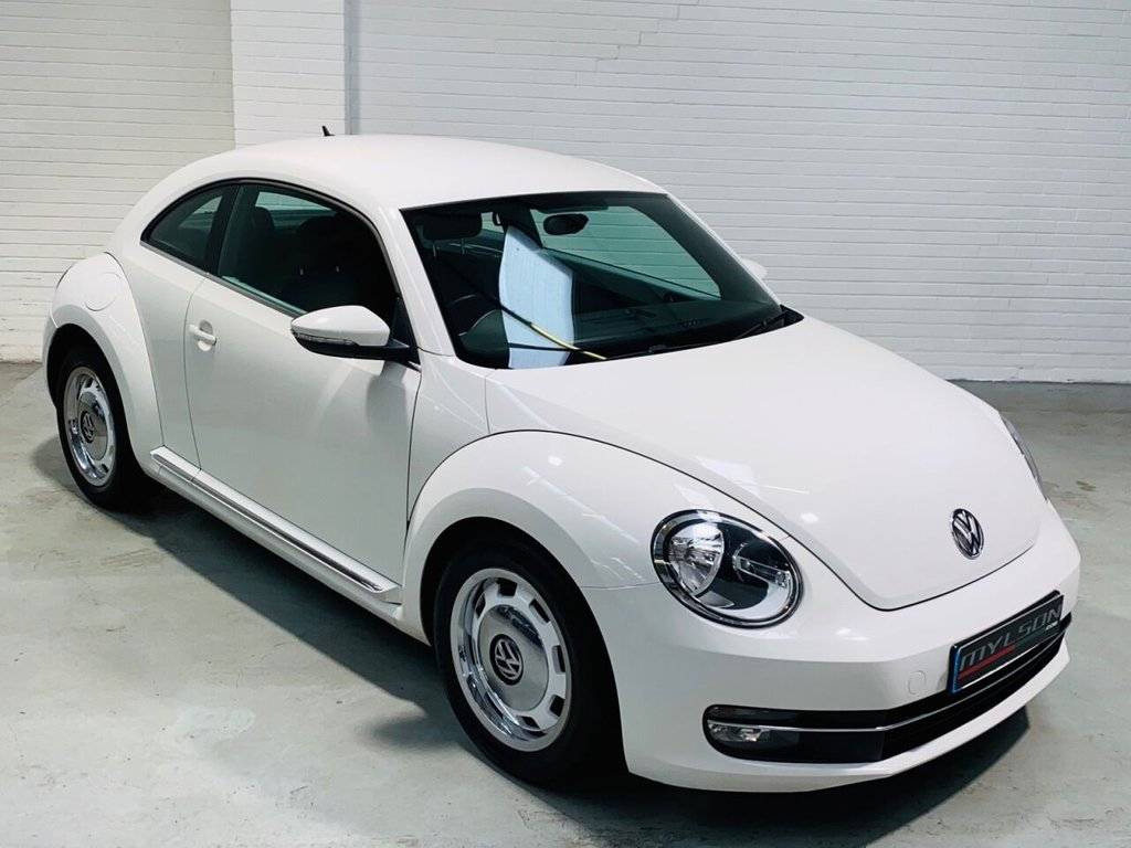 USED 2012 62 VOLKSWAGEN BEETLE 2.0 DESIGN TDI 3d 139 BHP Bluetooth Media System, AA Inspection Passed, 6 Months Warranty Included
