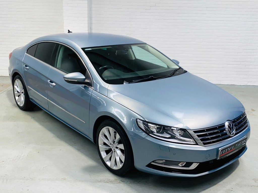 USED 2013 62 VOLKSWAGEN CC 2.0 GT TDI BLUEMOTION TECHNOLOGY DSG 4d 168 BHP Low Mileage, Full Black Leather Interior, Heated Seats, Bluetooth