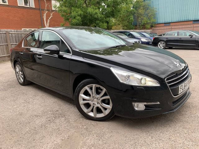 USED 2014 64 PEUGEOT 508 2.0 ALLURE HDI FAP  4d 163 BHP SAT NAV, BLUETOOTH, CLIMATE, EXCEPTIONALLY LOW MILEAGE