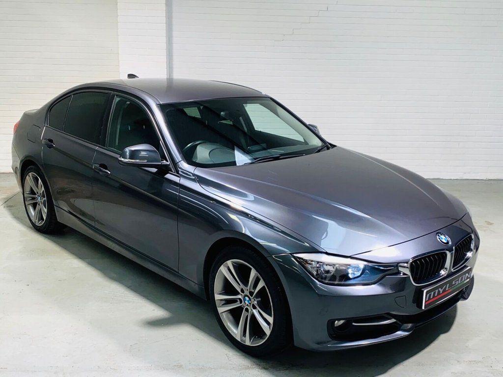 USED 2012 62 BMW 3 SERIES 2.0 318D SPORT 4d 141 BHP Low Mileage 3 Series Sport Auto, 18in Wheels, Privacy Glass, Bluetooth