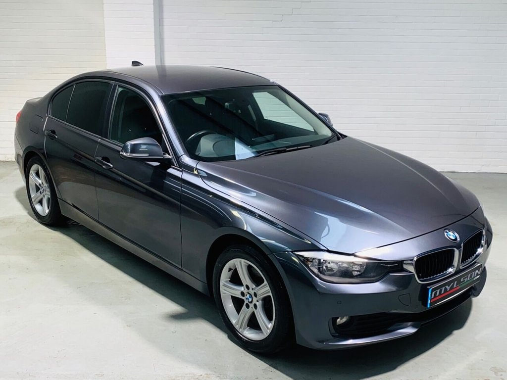 USED 2012 62 BMW 3 SERIES 2.0 320D SE 4d 184 BHP Black Leather Interior, Heated Seats, Widescreen Nav/Media System