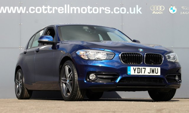 2017 17 BMW 1 SERIES 1.5 116D SPORT 5d 114 BHP [ FULL LEATHER ]